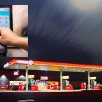 Benzinkutas pénztárgép